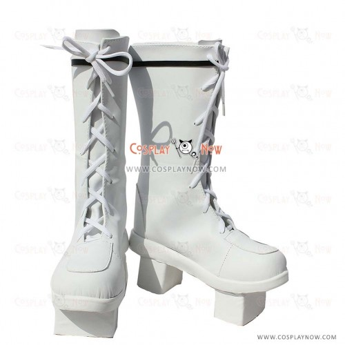 VOCALOID Snow Miku Cosplay Shoes Hatsune Miku Boots