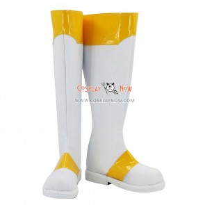 Cardcaptor Sakura Cosplay Shoes Sakura Kinomoto White Boots
