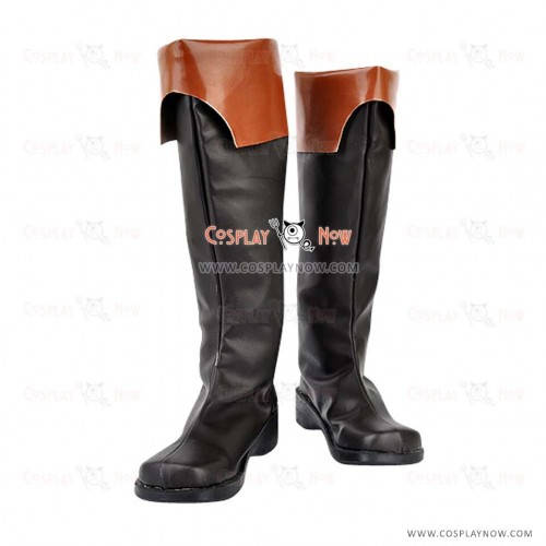 07-GHOST Cosplay Shoes Teito Klein Boots