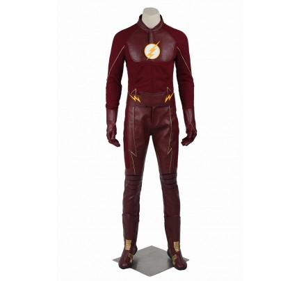 The Flash Season 2 Cosplay Barry Allen Costume