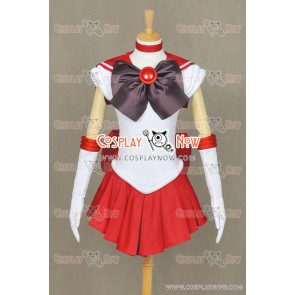 Sailor Moon Sailor Mars Rei Hino Cosplay Costume