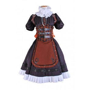 Alice Madness Returns Cosplay Steam Costume Dress