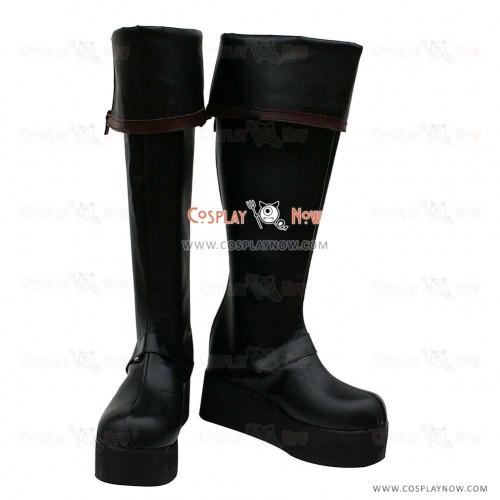 D Gray-Man Cosplay Shoes Yu Kanda Boots