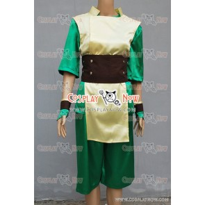 Avatar The Last Airbender Cosplay Toph Bei Fong Costume
