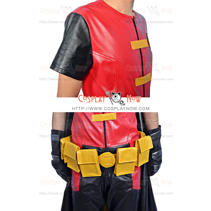 Tim Drake Robin Costume For Young Justice Cosplay Full Set
