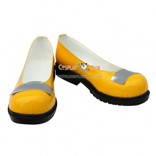 Vocaloid 3 SeeU Artifical Leather Cosplay Shoes