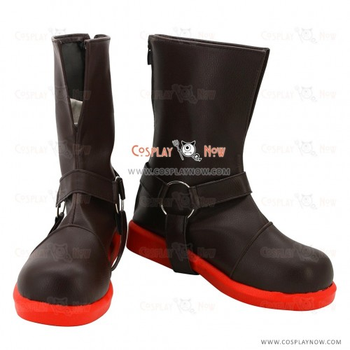 Fullmetal Alchemist Cosplay Shoes Edward Elric Boots