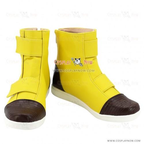 Dragon Ball Torankusu Yellow Shoes Cosplay Shoes