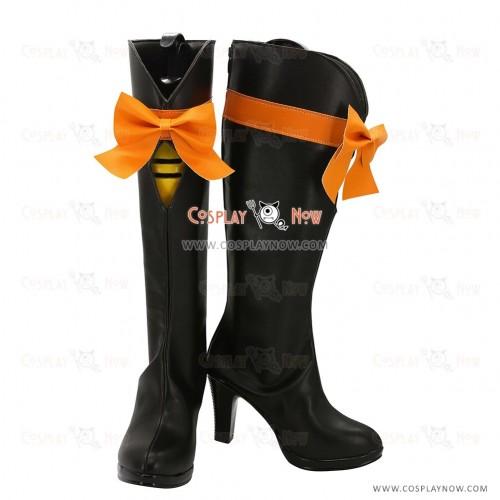 Love Live2 Cosplay Shoes KiRa KiRa Sensation! Koizumi Hanayo Boots