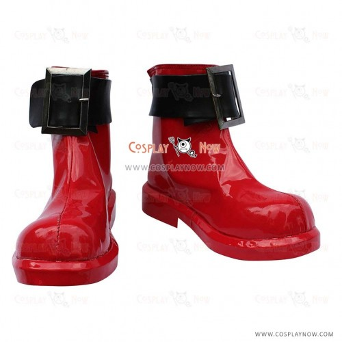 Toaru Majutsu no Index Sasha Cosplay Shoes Kruezhev Buckle Boots