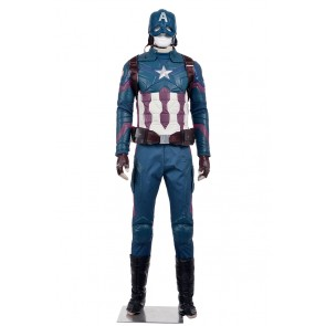 Steve Rogers The Avengers Costume For Captain America Civil War Cosplay