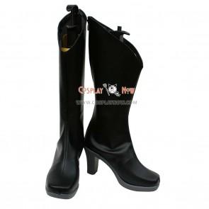 Unlight Cosplay Shoes Arlequin Stacia Black Boots