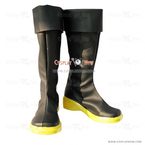 Vocaloid Cosplay Shoes Kaito with yellow sole Boots