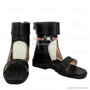 Naruto Temari Black Cosplay Shoes