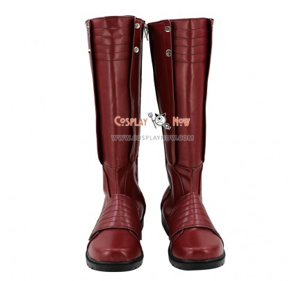 DC Arrowverse The Flash Cosplay Shoes Jay Garrick Boots