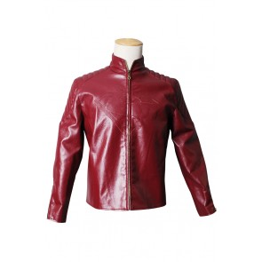 Smallville Clark Kent Cosplay Costume Red Coat