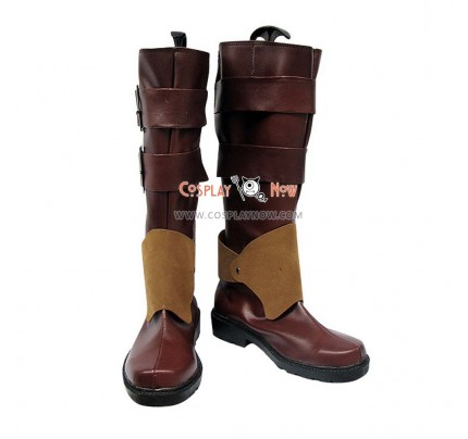 Pandora Hearts Cosplay Shoes Oz.vessalius Cool Buckle Boots