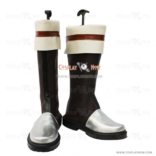 The Legend of Heroes VI Cosplay Shoes Kurz Nardin Brown Boots
