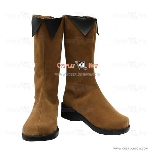 Hakuouki Cosplay Shoes Chizuru Yukimura Boots