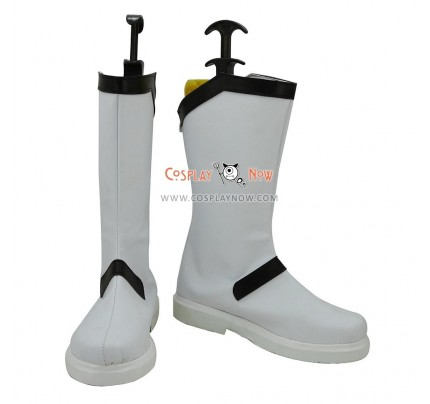 Touhou Project Cosplay Shoes Rinnosuke Morichika White & Black Boots