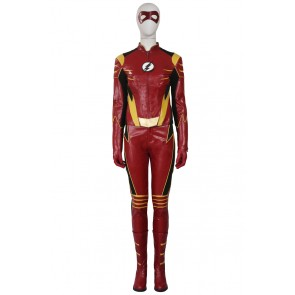 Jesse Quick Costume For The Flash Season 3 Cosplay Uniform