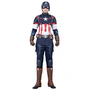 Steve Rogers Captain America Costume For Avengers Age Of Ultron Cosplay