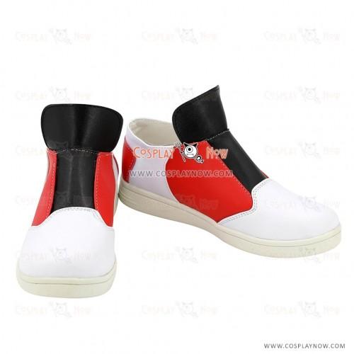 Pokémon Whitney White Cosplay Shoes