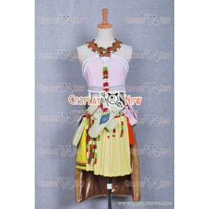 Final Fantasy XIII Oerba Dia Vanille Cosplay Costume