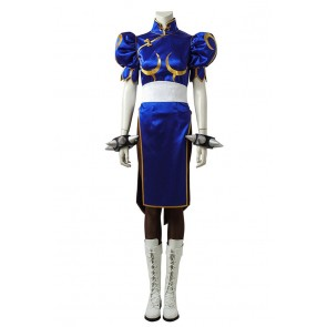 Street Fighter Cosplay Chun Li Costume