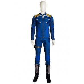 Star Trek Beyond James Kirk Captain Uniform Cosplay Costume