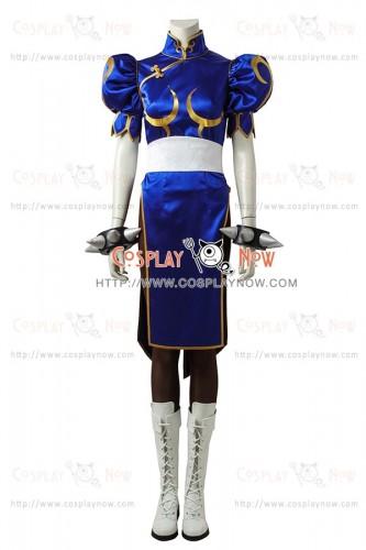 Street Fighter Cosplay Chun Li Costume