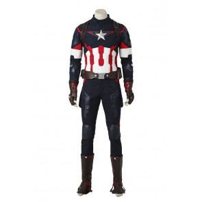 Avengers Age Of Ultron Cosplay Captain America Costume