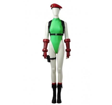 Street Fighter V Cosplay Cammy White Costume