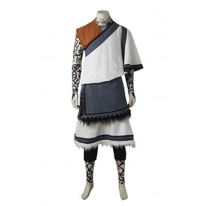 The Last Guardian Cosplay The Young Boy Monk Costume