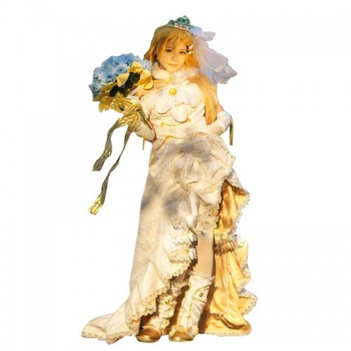 Love Live LoveLive Cosplay Eri Ayase Costume Wedding Dress