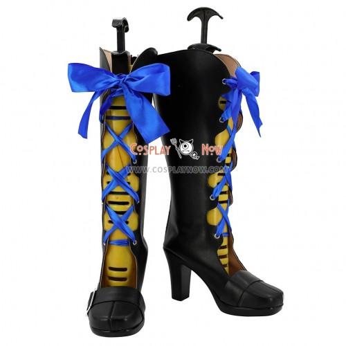 Black Butler Kuroshitsuji Movie: Book of the Atlantic Cosplay Shoes Ciel Phantomhive Black Boots