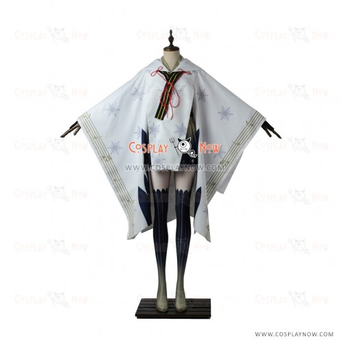 Vocaloid 2 Cosplay Snow Miku 2018 Costume Kimono Dress