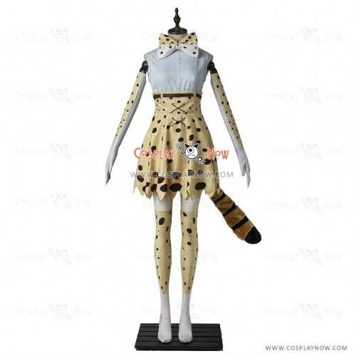 Kemono Friends Cute Serval Cosplay Costume