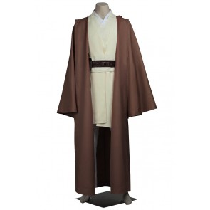 Star Wars Obi Wan Kenobi Cosplay Uniform