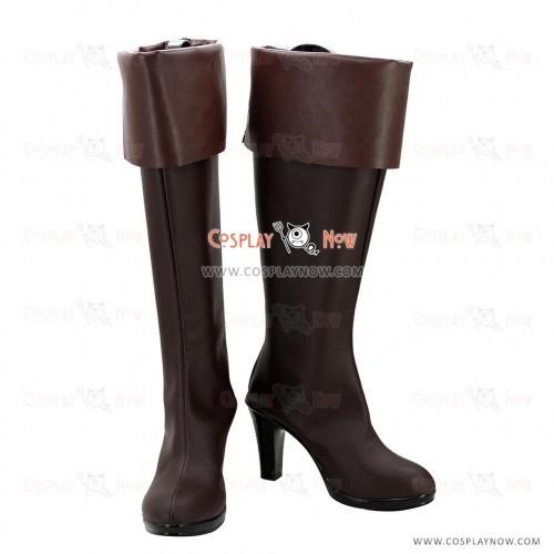 Noragami Aragoto Cosplay Shoes Bishamonten Veena Boots