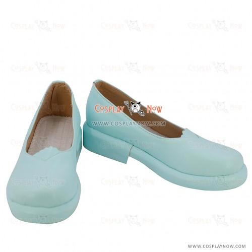 Love Live! Sunshine!! You Watanabe Blue Cosplay Shoes