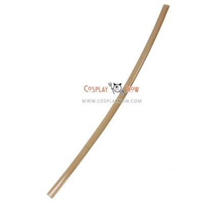 Rurouni Kenshin Seijuro Hiko Wood PVC Cosplay Props