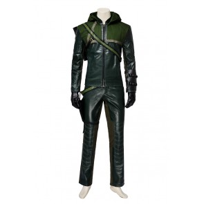 Oliver Queen Green Arrow Costume For Green Arrow Season 1 Cosplay