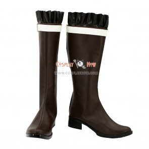 Diabolik Lovers Cosplay Shoes Yui Komori Brown Boots