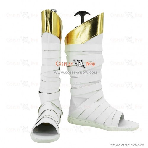 League of Legends LOL Cosplay Shoes Muay Thai Lee Sin the Blind Monk Cosplay Boots