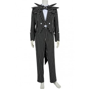 The Nightmare Before Christmas Cosplay Jack Skellington Costume
