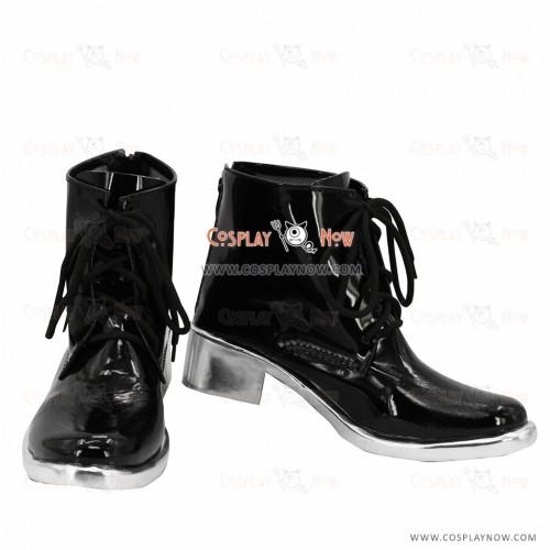 Tokyo Ghoul Ken Kaneki Black Battle Cosplay Boots