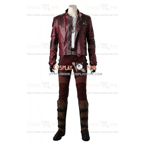 Guardians of the Galaxy Cosplay Peter Quill Star-Lord Costume