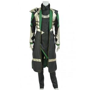 Thor 2 The Dark World Loki Cosplay Costume