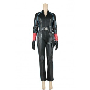 Avengers: Age Of Ultron Black Widow Cosplay Costume